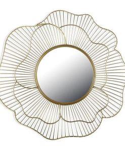 Espelho de parede Metal (49 X 49 x 3 cm)
