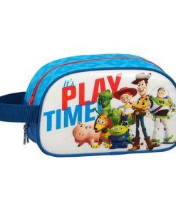 Nécessaire Escolar Toy Story Play Time Azul Branco