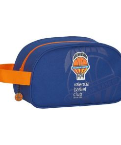 Nécessaire Escolar Valencia Basket Azul Laranja
