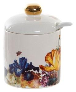 Açucareiro Dekodonia Floral Glam (7 x 7 x 8 cm)