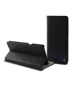 Capa tipo Livro para o Telemóvel Huawei Mate 10 Lite KSIX Slim Preto