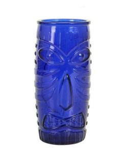 Copo TIKI Vidro Azul 59 cl