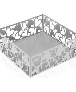 Porta-guardanapos Kamira Metal Branco