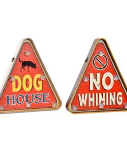 Luminária Dekodonia Dog House / No Whining (2 pcs) (30 x 5 x 32 cm)