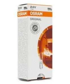 Lâmpada para Automóveis Osram 24V 1,2W (10 pcs)