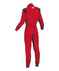 Fato de Corrida Infantil OMP Summer-K Vermelho (150 cm)