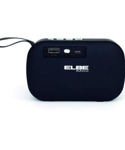 Altifalante Bluetooth ELBE ALTAN10BT 300 mAh 3 W Preto