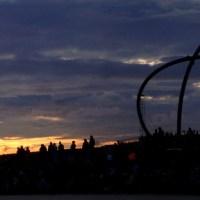 Hoch über dem Ruhrgebiet: Celtic Sundown auf Halde Hoheward