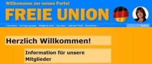 Homepage Freie Union