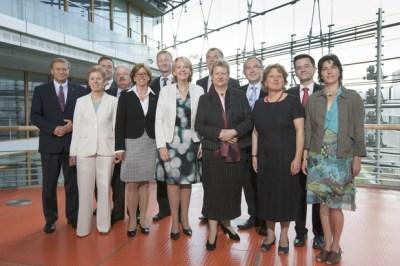Das neue Kabinett von NRW (15.07.2010) - Copyright: Staatskanzlei Nordrhein-Westfalen / Foto: Ralph Sondermann