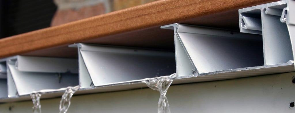 Dryjoistez Deck Drainage System Structural Framing