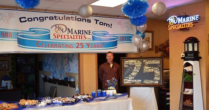Marine Specialties Celebrates 25 Years in Business