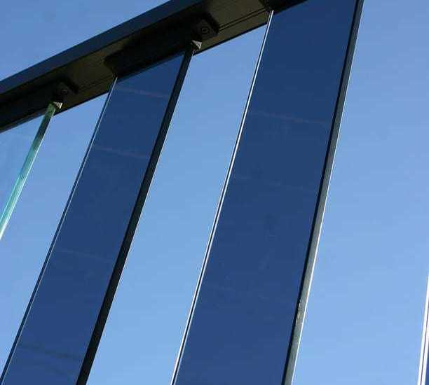 Safety Comes First with Wahoo Rail Glass Panel Railing