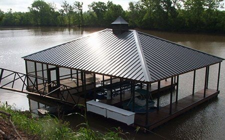 aluminum dock layouts double slip dock