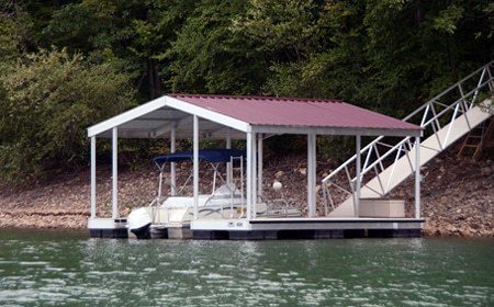 aluminum dock layouts single slip dock