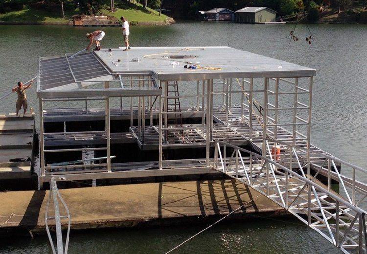 Wahoo Docks Aluminum Dock Mainframe