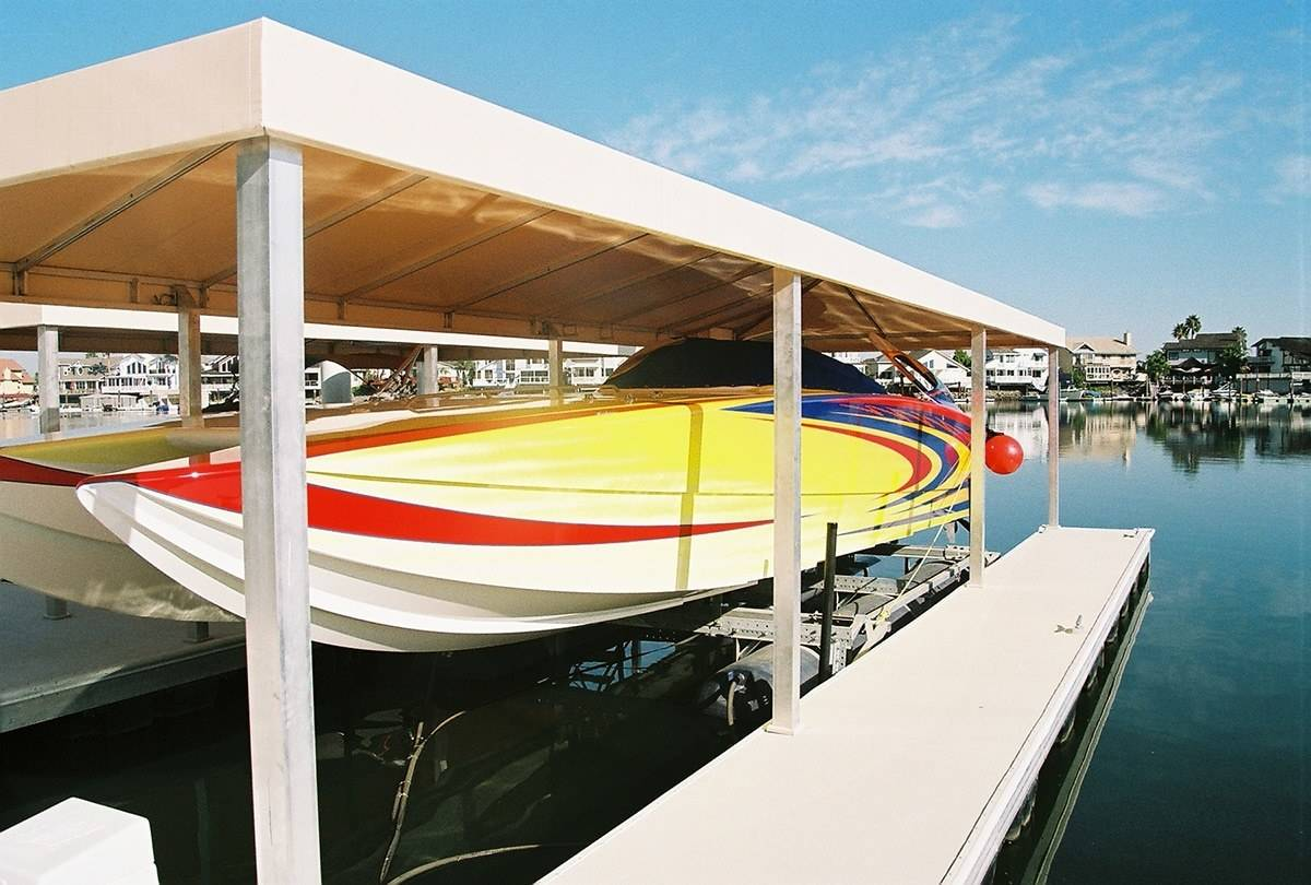 Boat Dock Decking Aridek Aluminum Decking Wahoo Docks