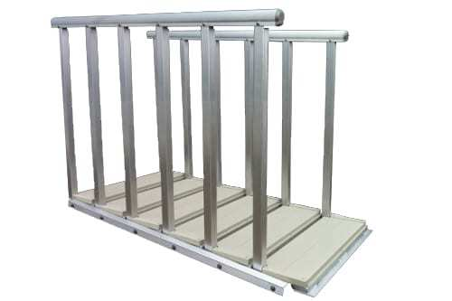 Articulating Dock Stairs For Floating Boat Docks From Wahoo
