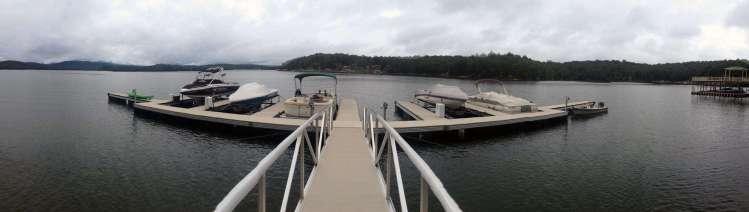 wahoo aluminum docks commercial dock construction at hideaway docks
