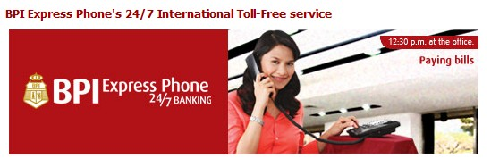 BPI phone banking