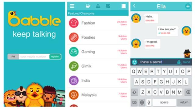 Babble-Screenshot