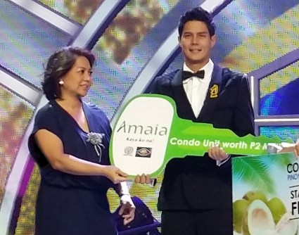 Daniel Matsunaga with Anna Garcia Ramos