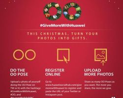 Huawei gives more back this Christmas to their fans and to the community