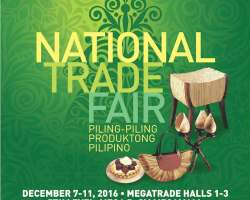 Christmas Shopping while supporting Filipino SME's at the SikatPinoy National Trade Fair