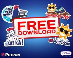 Petron Viber Stickers!