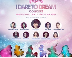 Buy your tickets now for the Finale of the I Dare to Dream from Globe Studios