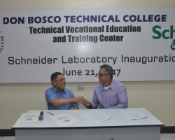 Don Bosco and Schneider Electric partner to launch Green Electrician's Laboratory