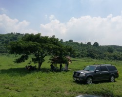 Ford Fathers Day out with the Ford Everest