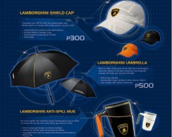 Lamborghini Lifestyle Collection now available with Petron