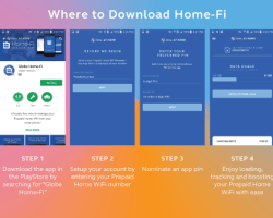 Managing your Prepaid Home Wifi has never been easier with the new Home-Fi App