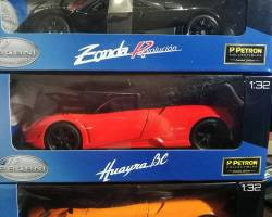 The Pagani Automobili Hypercar Collection is available with Petron