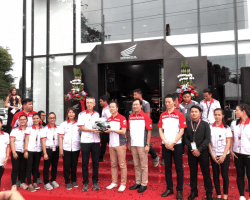Honda Flagship Shop in Davao excites motorcycle enthusiasts with new Honda Big Bike Showroom