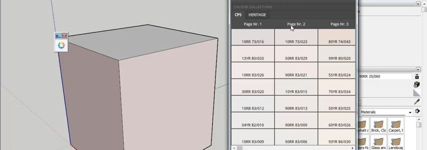 Plugin SketchUp Dulux Trade Digital Palette Indonesia Review