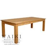 meja makan panjang minimalis jati jepara