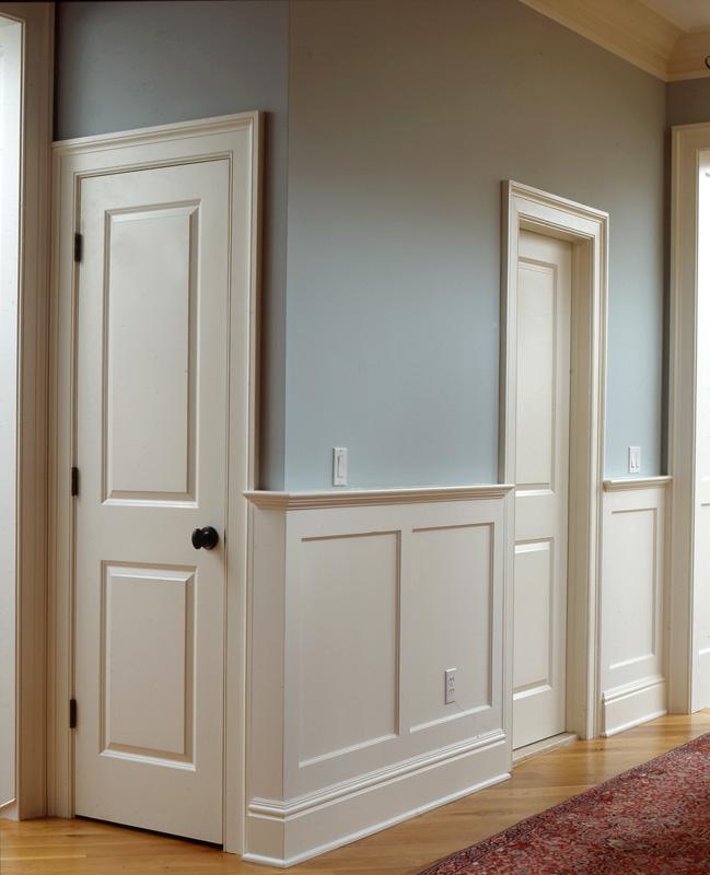 Mdf Beadboard In Bathroom: Recessed Panel Wainscoting