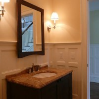 Wainscot Solutions Verdi Style Wainscoting Bathroom