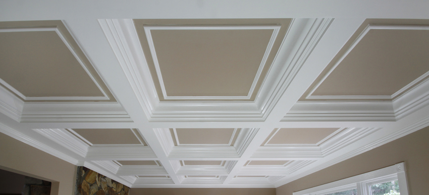 Excellent Coffered Ceilings - Wainscot Solutions, Inc. BY41
