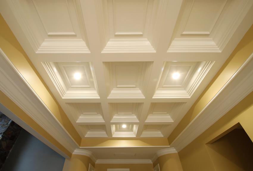 coffered ceilings custom millwork