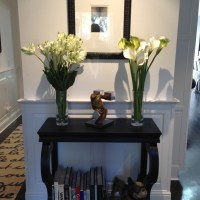 Raised Panel Wainscoting - Foyer