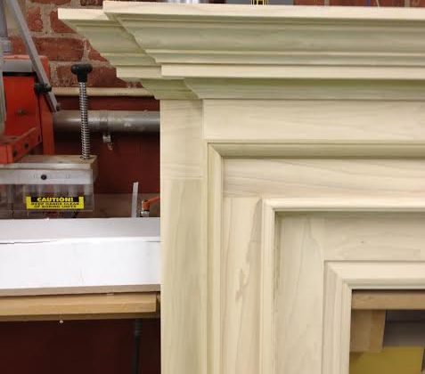 new arrival 181f0 48ece In The Shop: Mantel | Wainscot Solutions, Inc.