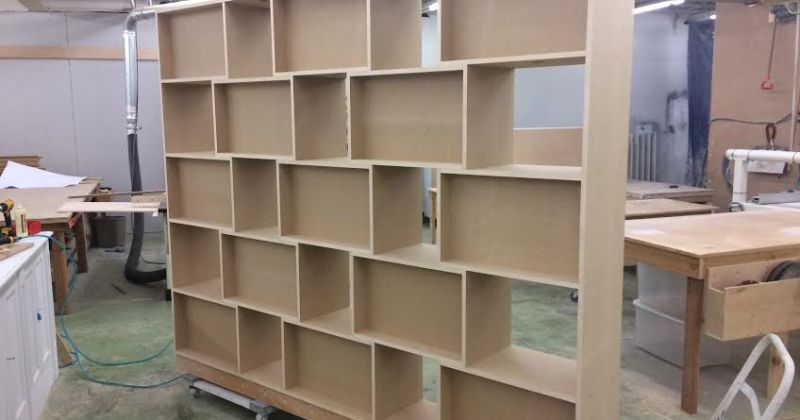 Custom Shelf- Wainscot Solutions