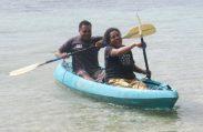 Kaya inaugral voyage Pita and Eta HS 2