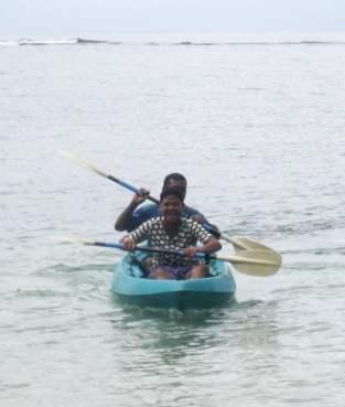 Kayaking Joe and Teresa HS
