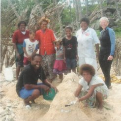 The fish house building team