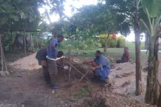 Community Hall at Waitabu village