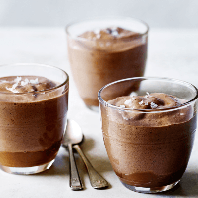 Резултат со слика за Salted caramel and chocolate mousse